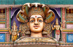 The Supreme Hindu Goddess stock photography