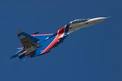 Supreme Pilotage, Yeysk, Russia, July 25, 2015. Supreme Pilotage at the Su-27, Yeisk, Russia, July 25, 2015 Stock Photography