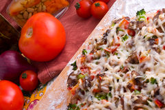 Supreme Pizza Royalty Free Stock Photos