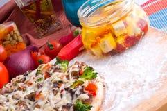 Supreme Pizza Stock Photo