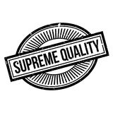 Supreme Quality rubber stamp Royalty Free Stock Images