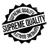 Supreme Quality rubber stamp Stock Image