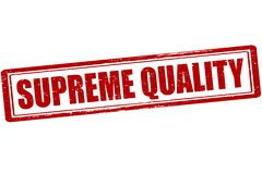 Supreme quality. Rubber stamp with text supreme quality inside, illustration vector illustration