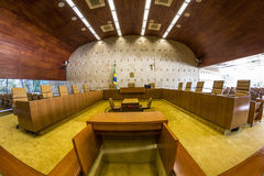 Supremo Tribunal Federal - Brasília - DF - Brazil Stock Photography