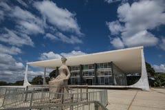 Supremo Tribunal Federal - Brasília - DF - Brazil Royalty Free Stock Photo