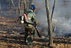 Supresión del incendio forestal 29 Fotografía de archivo libre de regalías