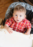 Suprised Baby Royalty Free Stock Photos