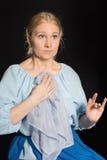 Suprised woman. Stock Image