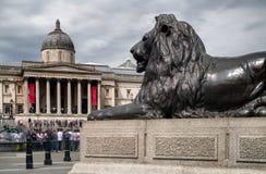 Suqare Trafalgar, Лондон стоковые изображения