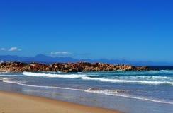 Suráfrica, ruta del jardín, bahía de Plettenberg Imágenes de archivo libres de regalías