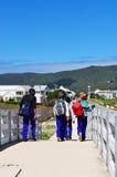 Suráfrica, ruta del jardín, Knysna, islas de Thesen Foto de archivo libre de regalías