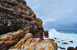 Suráfrica, Western Cape, península del cabo Foto de archivo