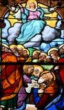 Sur Сена Triel, Франция - 12-ое июня 2016: живописный Святой Marti Стоковая Фотография