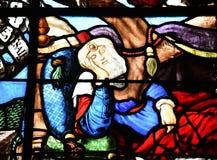 Sur Сена Triel, Франция - 12-ое июня 2016: живописный Святой Marti Стоковые Изображения