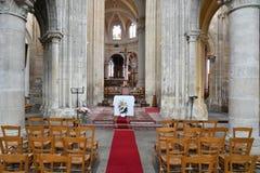 Sur Сена Triel, Франция - 12-ое июня 2016: живописный Святой Marti Стоковое Фото