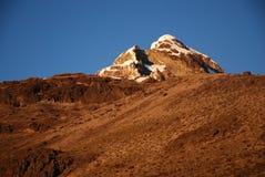 sur 2008 d'illiniza de l'Equateur image stock
