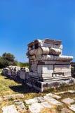 Sur ce de Samos, la Grèce Photographie stock