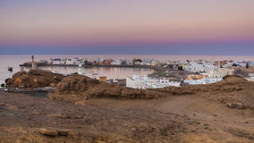 Sur. The city of Sur, Oman, Arabic Peninsula Royalty Free Stock Images