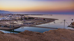 Sur. The city of Sur, Oman, Arabic Peninsula Stock Photos