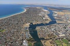 Sur de Australia aéreo Foto de archivo libre de regalías