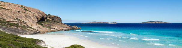 Sur de Australia de la playa de Esperance Imagen de archivo