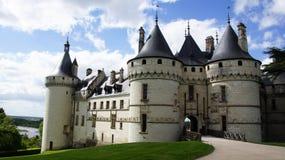 Sur el Loira de Chaumont del castillo francés foto de archivo libre de regalías