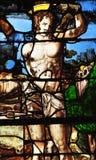 Sur el Sena, Francia de Triel - 3 de abril de 2016: iglesia Imagen de archivo