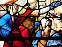 Sur el Sena, Francia de Triel - 3 de abril de 2016: iglesia Foto de archivo libre de regalías