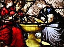 Sur el Sena, Francia de Triel - 12 de junio de 2016: santo pintoresco Marti imágenes de archivo libres de regalías