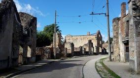 Sur Glane di Oradour Immagine Stock