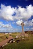 Sur l'île de Llanddwyn Images libres de droits