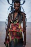 Sur l'aura espionnez le défilé de mode 2013 d'été de source de vu Photo stock