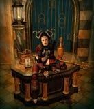 Sur l'autel, 3d CG. Image stock