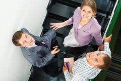 Sur l'escalier Photographie stock libre de droits