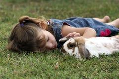 Sur l'herbe photo libre de droits