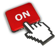SUR l'icône Image libre de droits