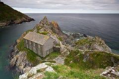 Sur la côte Image libre de droits