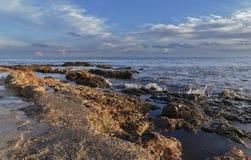 Sur la côte Photographie stock libre de droits