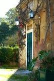 Sur la cour du vieux Portugal Image stock