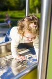 Sur la glissière Photographie stock libre de droits