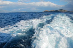 Sur la mer Photographie stock libre de droits