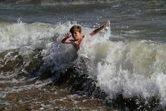 Sur la mer photo libre de droits