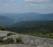 Sur la montagne photographie stock