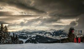 Sur la montagne aux carrefours Images stock