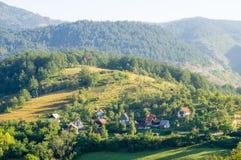 Sur la Moravie occidentale en Serbie Images stock