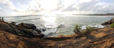 Sur la plage Photos stock