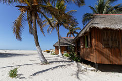 Sur la plage de Morondava Photographie stock libre de droits