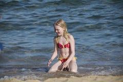 Sur la plage en Naama Bay Photographie stock libre de droits