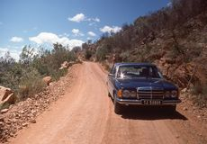 Sur la route à la baie de Plettenberg, l'Afrique du Sud Photos libres de droits