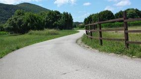 Sur la route Photo libre de droits